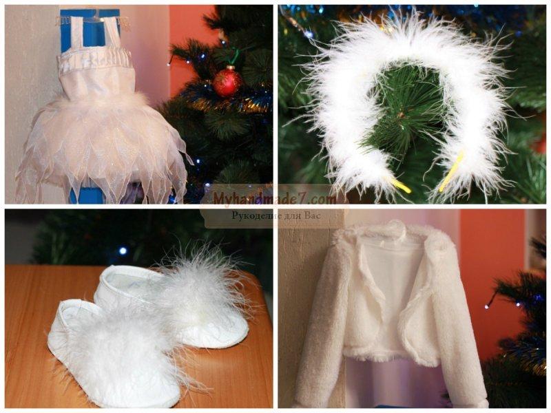 Снежинки на костюм своими руками