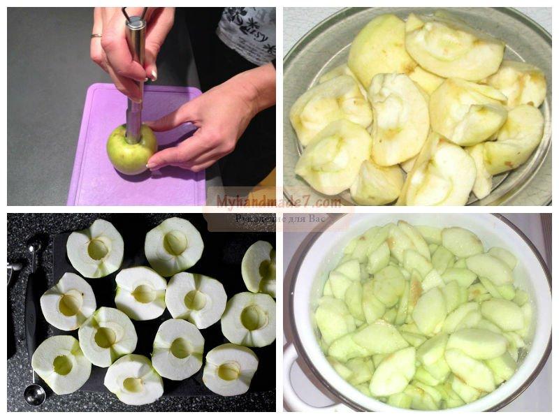 Мариновать яблоки пошаговый рецепт с картинками