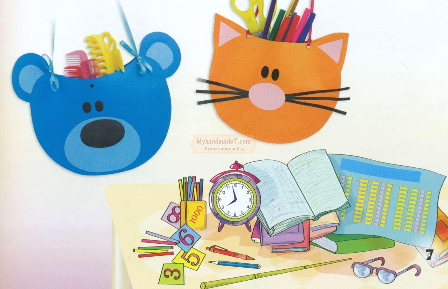 Поделки из картона бумаги для детского творчества
