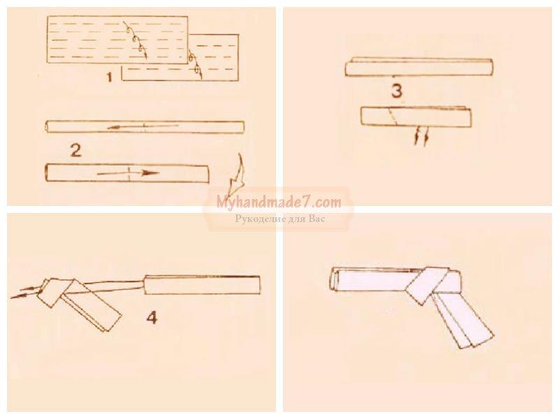 Как сделать пистолет из бумаги который стреляет инструкция легко - Val-spb.ru