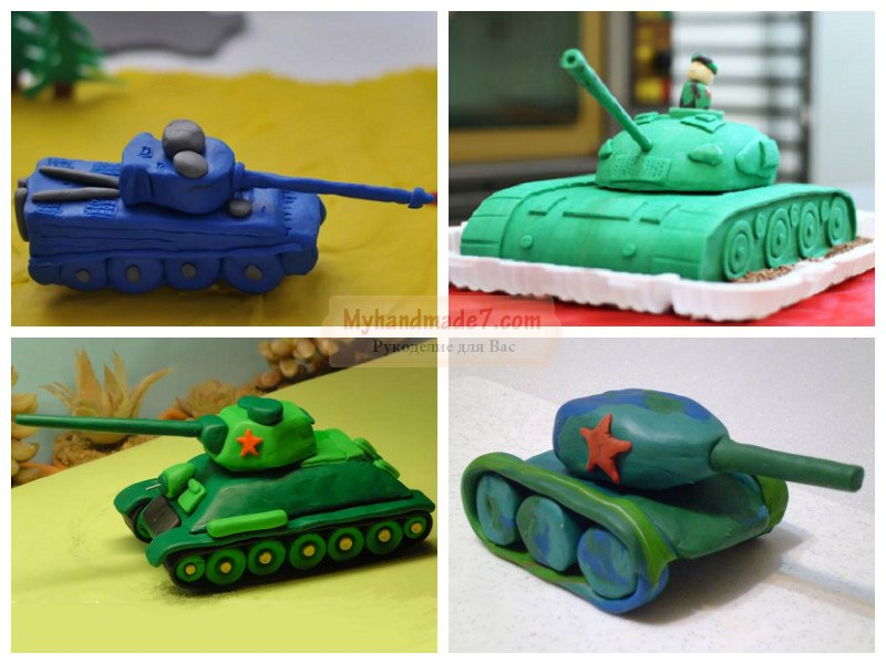 Как ребёнку сделать танк 793