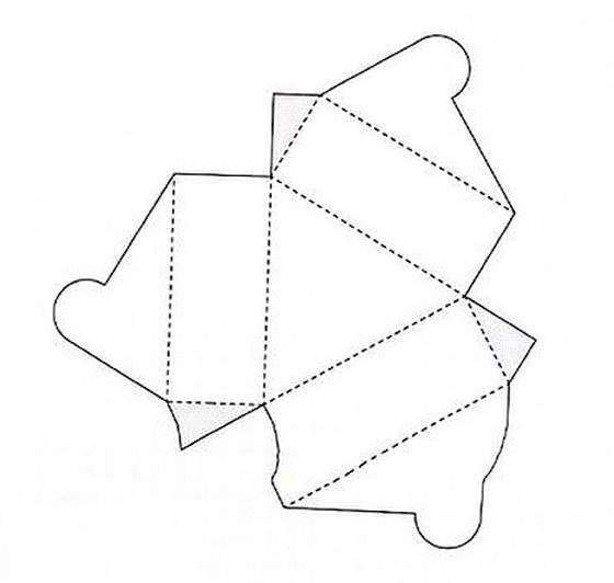 Интересные коробочки своими руками из бумаги схемы 34