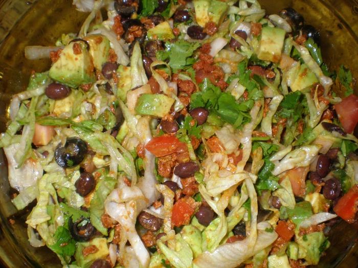 Салат белковый рецепт пошагово в