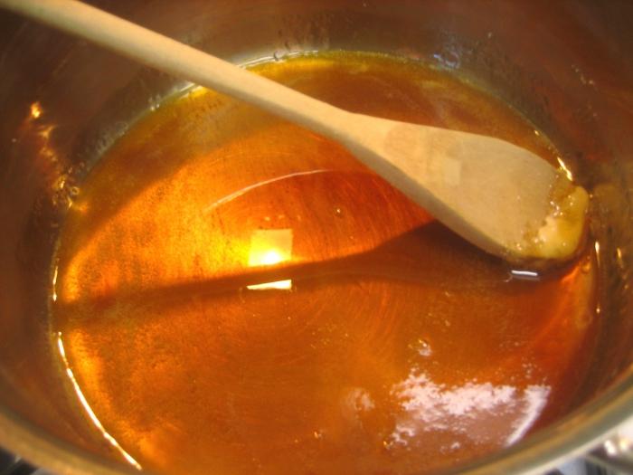Как из сахара сделать жидкую карамель в домашних условиях из сахара