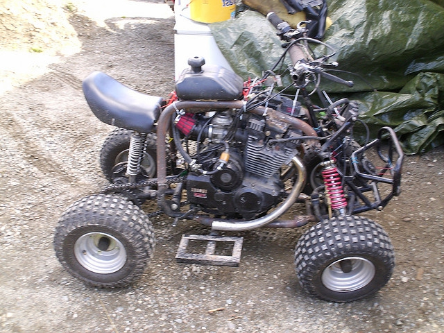 Сделать детский квадроцикл своими руками 92