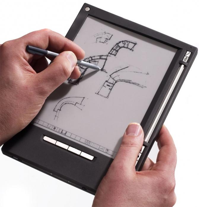 На сегодняшний день e ink corporation производит электронную бумагу следующих стандартных типоразмеров: 5 (800=600)