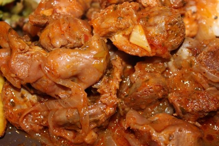 Как готовить куриные желудки рецепт с фото
