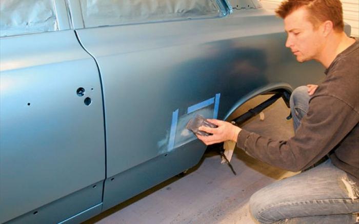 Как покрасить автомобиль своими руками фото