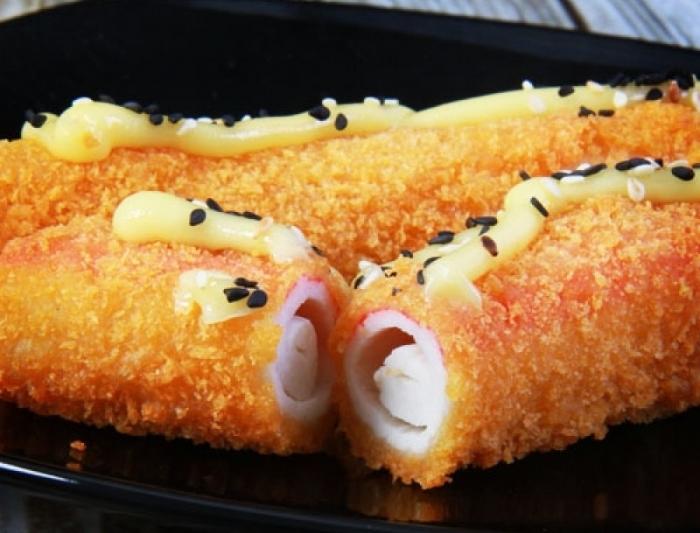 Рецепт крабовых палочек в кляре с сыром с пошагово в