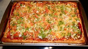 простой рецепт пиццы без дрожжей в домашних условиях