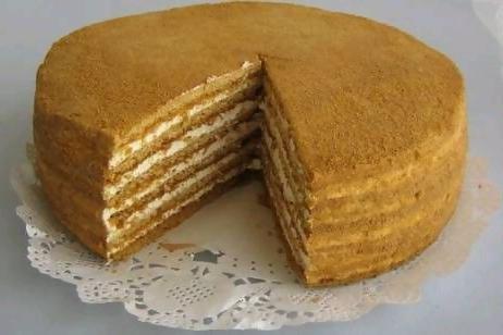 Как сделать медовый корж для торта 36