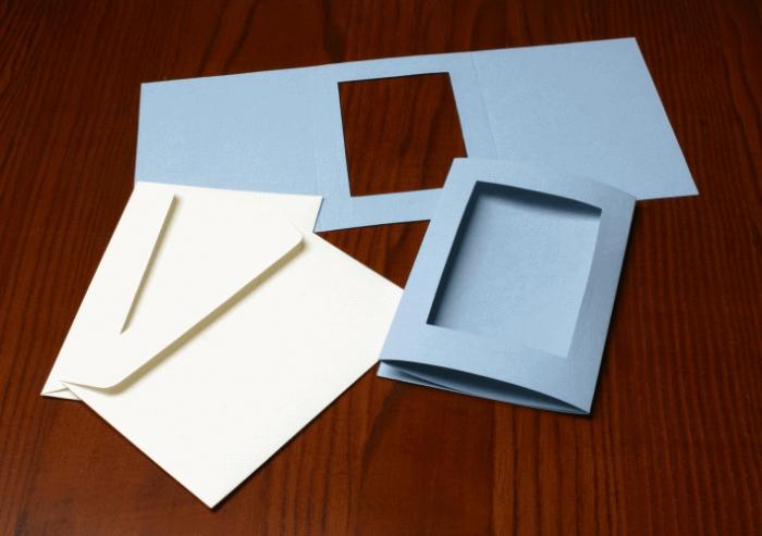 Как сделать паспарту для рисунка своими руками 897