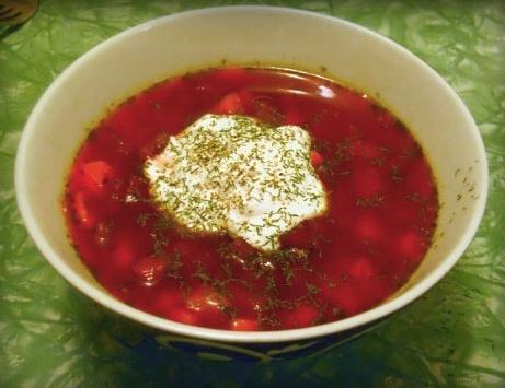 Борщ из свинины классический рецепт с пошагово