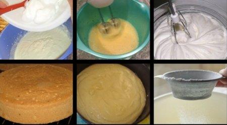 Крем для бисквитного торта простой рецепт