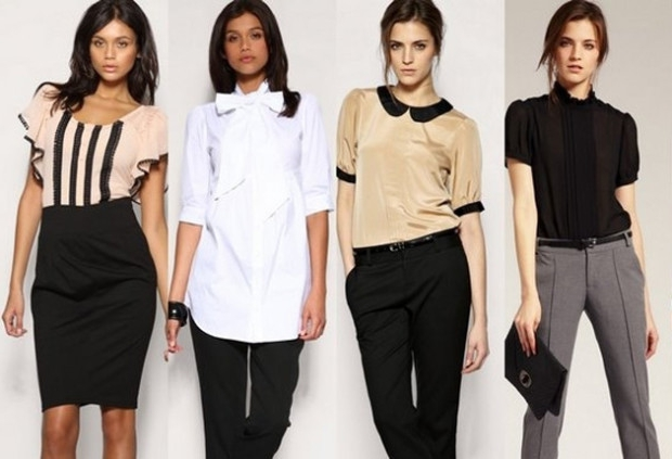 Офісний стиль одягу для дівчат і жінок 176e0bcc9ca14