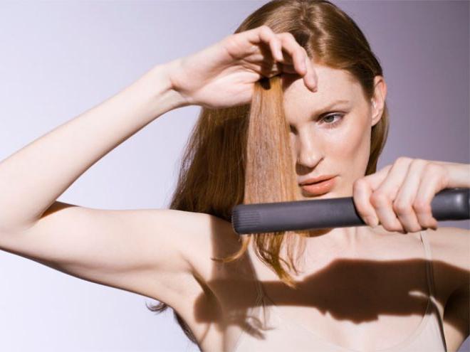 Как сделать что бы прямые волосы были надолго8