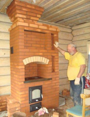 Дача строим печь своими руками 64