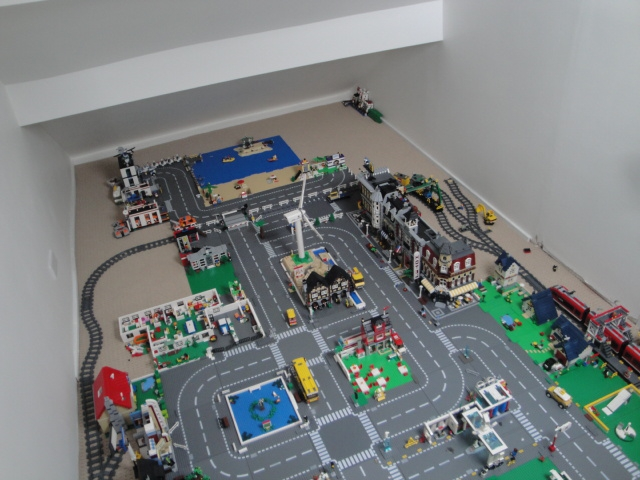 Как построить лего город своими руками 8
