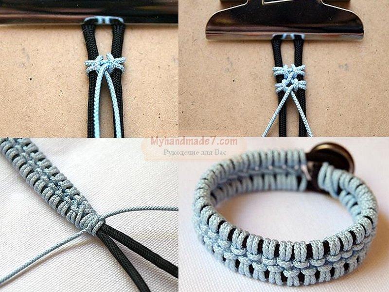 Создание мужских браслетов своими руками 85