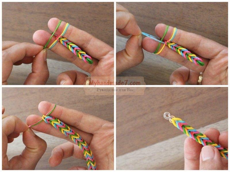 Как сделать браслет на станке поэтапно