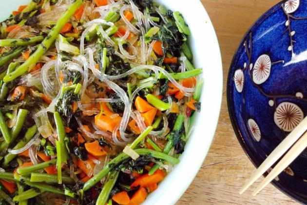 Калорийность в салате фунчоза