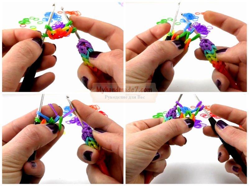 Как сделать из резинок подарок на свадьбу