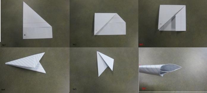 Как сделать из бумаги зуб