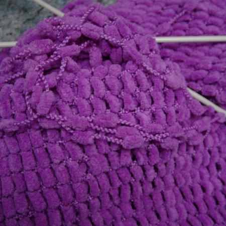Вязание из пряжи с помпонами спицами 47