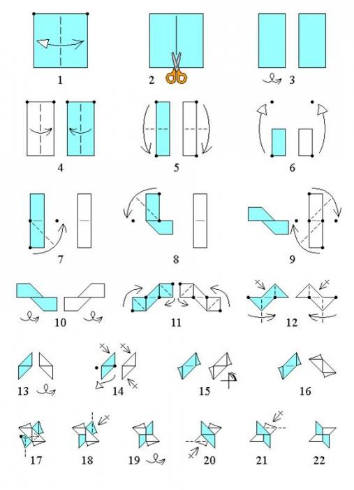 Оригами как сделать из бумаги мечи и