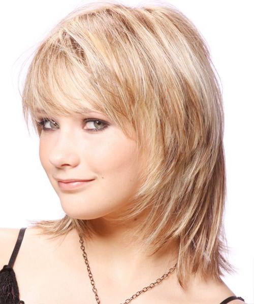 Прически для средней длины волос для тех кому за 25