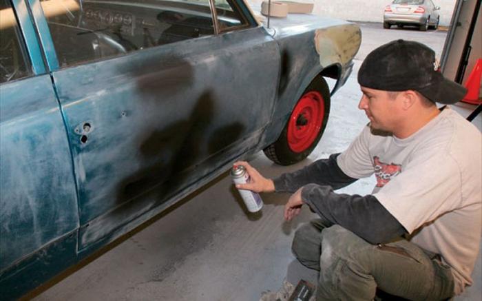 Как покрасить автомобиль своими руками в домашних условиях