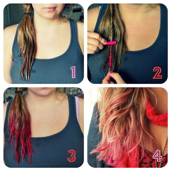 Різнокольорові волосся