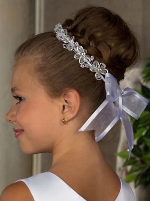 Праздничные причёски для девочек на длинные волосы пошагово