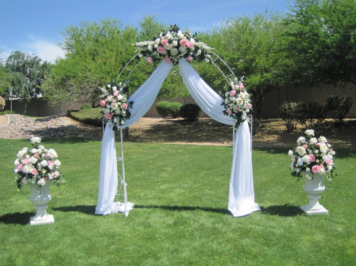 Арка к свадьбе своими руками 88