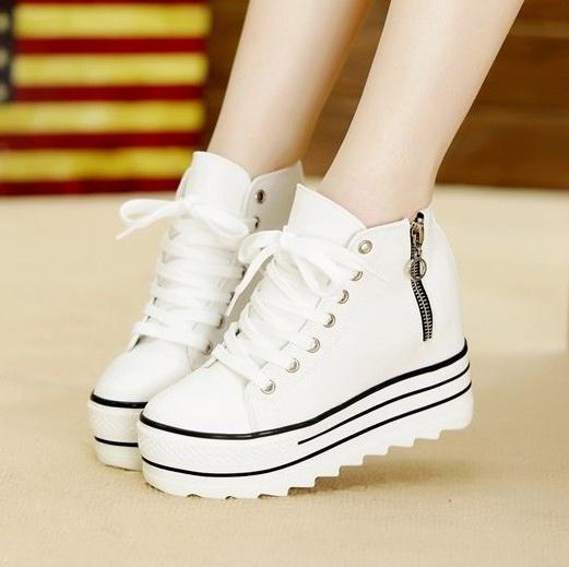 З чим носити модні кросівки на платформі  63cbd37b711e9