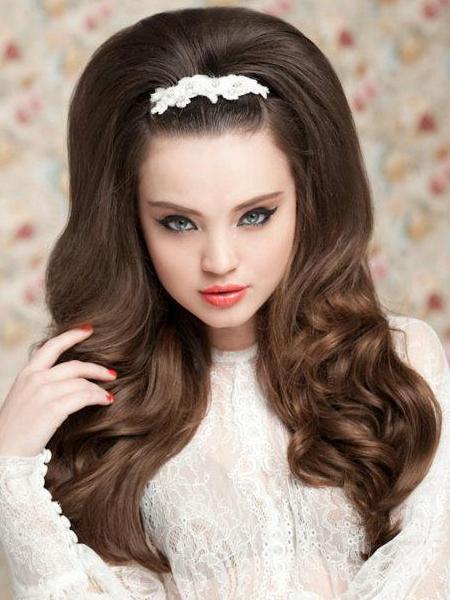 зачіски на день народження фото на довге волосся