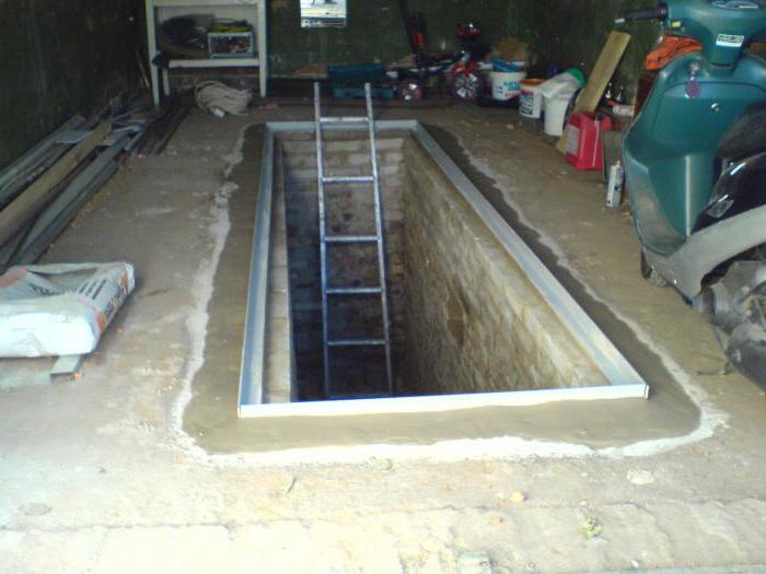 Как сделать яма в гараже