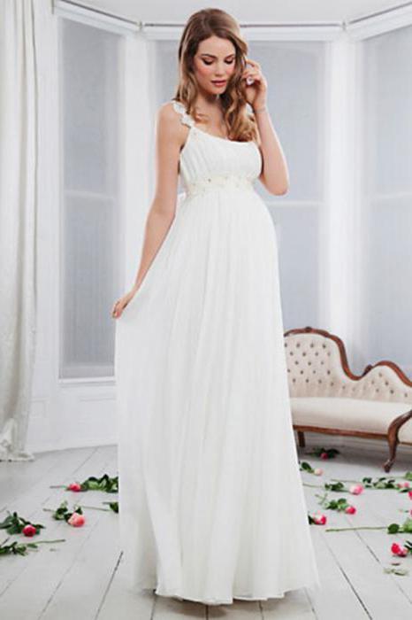 Довге шифонове плаття в підлогу своїми руками a230de0e1d111