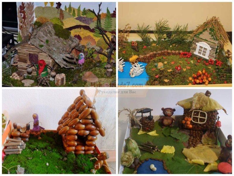 Поделки своими руками для сада осень из природного материала 315