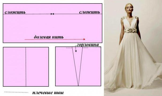 Свадебные платья для беременных выкройки 56