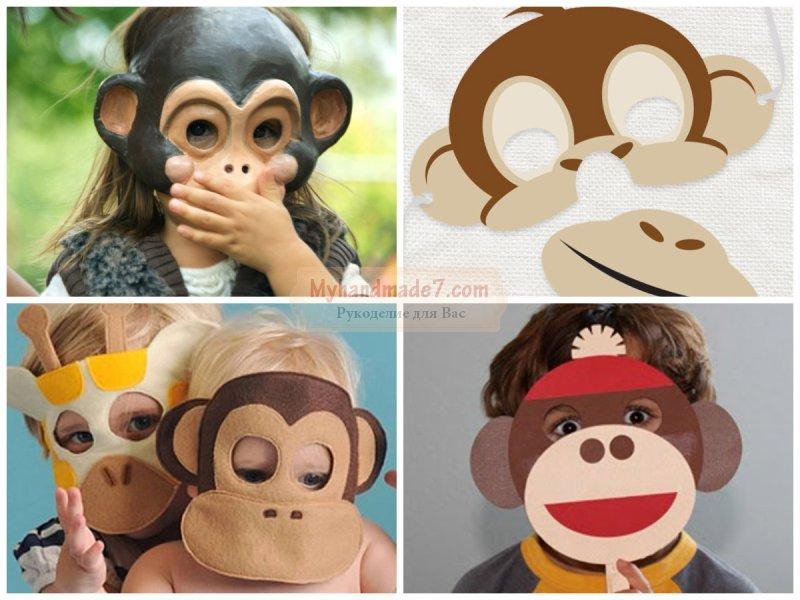 Костюм обезьяны сделать своими руками