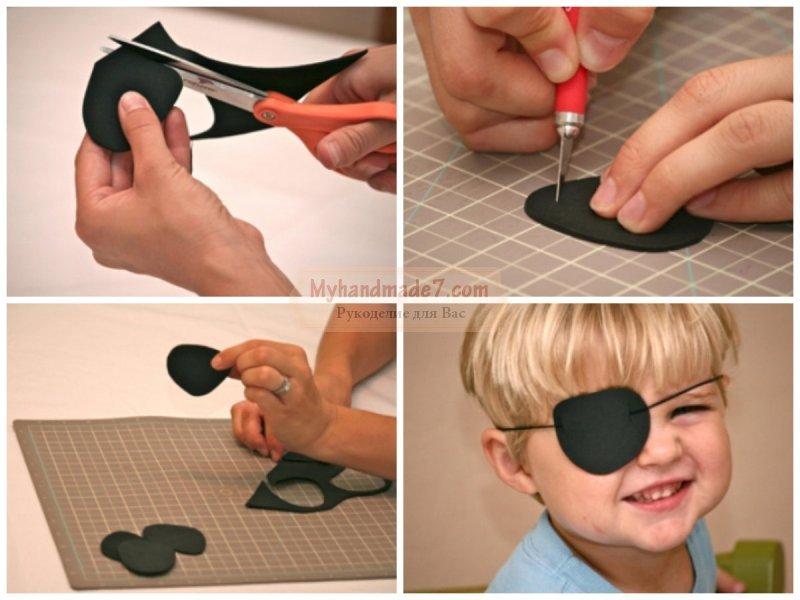 Как сделать окклюдер для ребенка