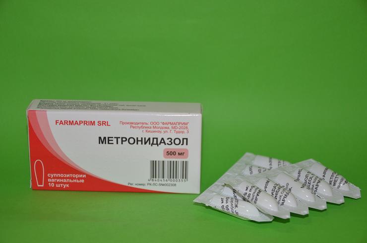 Тержинан и метронидазол вместе