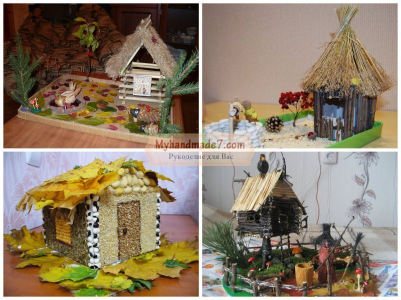 Поделки для детского сада тема осень фото 77