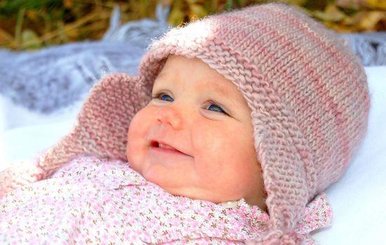 Вязание детских шапочек 12