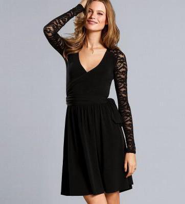 З чим носити сукні з мереживами чорне  31b198924f80d