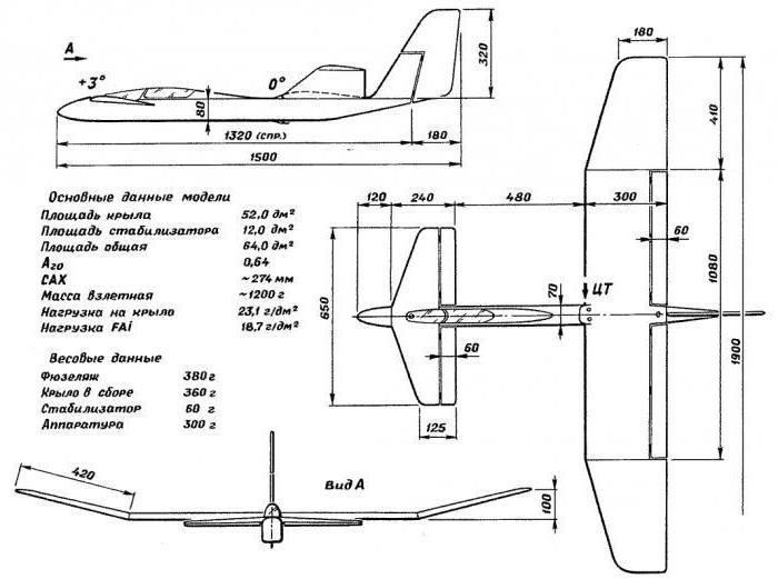 Схемы самолетов из пенопласта чертежи