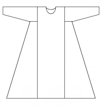 Db-08 детская сорочка, 36 р мережка