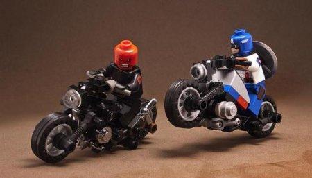 Как сделать лего мотоцикл своими руками