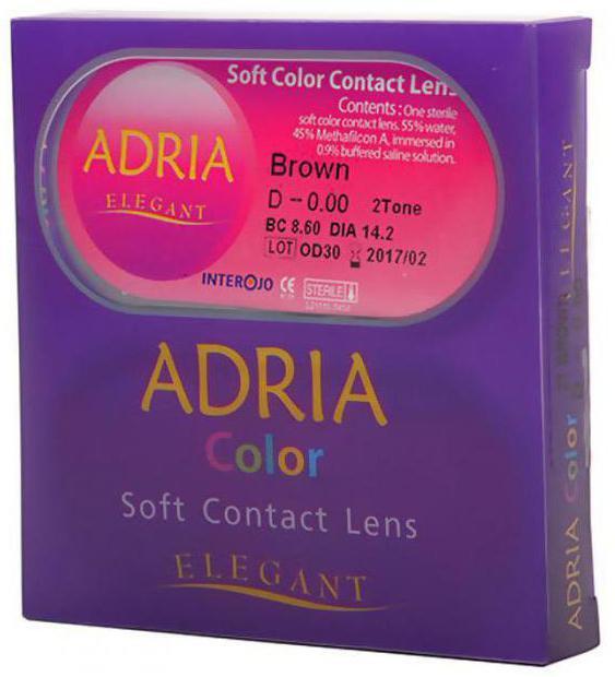 Контактні лінзи Adria Color - кардинальна зміна кольору очей f1ec15558492d